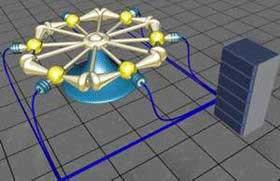 Генератор электрической энергии на основе эффекта индуцированного распада протона.